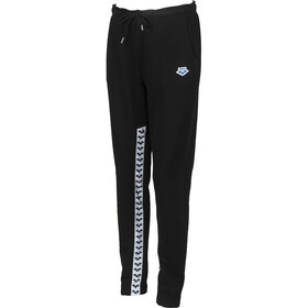 arena Team Fleece Hose Damen black/white/black